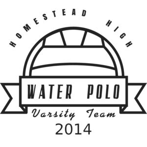 Water Polo Template DNT001 BW Thumbnail